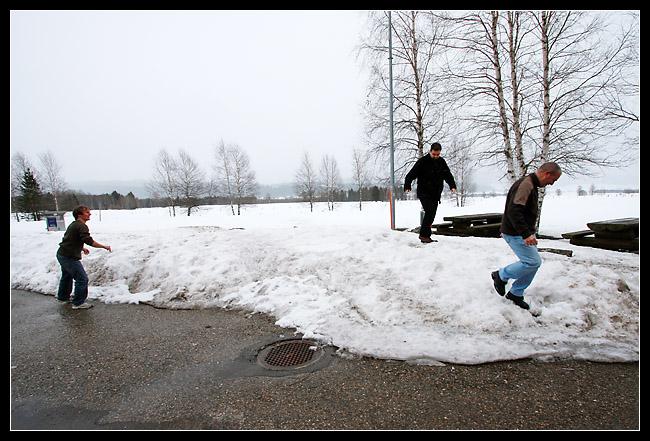 """Ivan: """"Moi j'aime pas marcher dans la neige parce que..."""""""