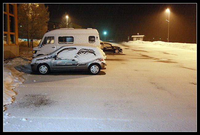Enfin, une photo avec la neige, sans risques!