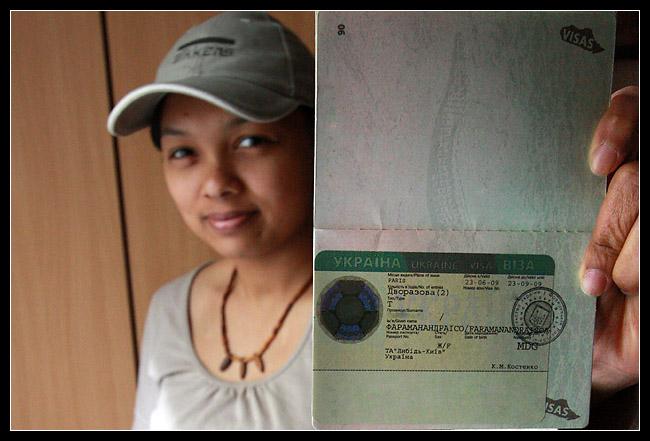 Le Visa Ukrainien